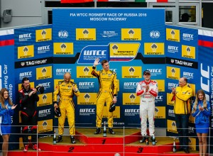 LADA SPORT ROSNEFT Racing Team at  the WTCC
